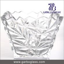 """8,5 """"en relieve de vidrio de diseño ensalada Bowl"""
