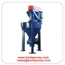 Bomba vertical de espuma de espuma de minería duradera industrial vertical