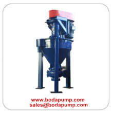 Vertical industrial Durable Miner Froth espuma bomba