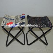 Cadeira de pesca dobrável promocional