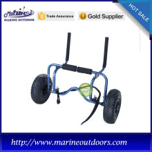 Anodized aluminum kayak hand cart/trolley/trailer