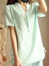 Lady Fashion Blouse for Summer