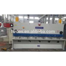 Cizalla de chapa hidráulica qc11y-12 * 4000 / cizalla hidráulica con corte de 12mm