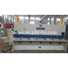 hydraulic sheet metal shearing machine qc11y-12*4000/ hydraulic plate shearing machine with 12mm cutting