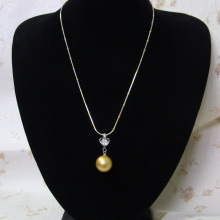 Manufacturer for A Pendant Necklace Gold Pearl Pendant Necklace supply to Bermuda Factory