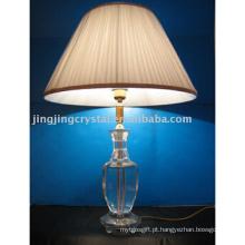 Lâmpada de cristal para decoração de mesa
