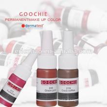 O mais novo ! Promoção de vendas Goochie High Quality Herbal pigmento saudável para maquiagem permanente