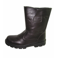 Cow Grain Leather Boots