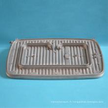 Moulage d'aluminium meurent ustensiles de cuisson carrés gaufrier