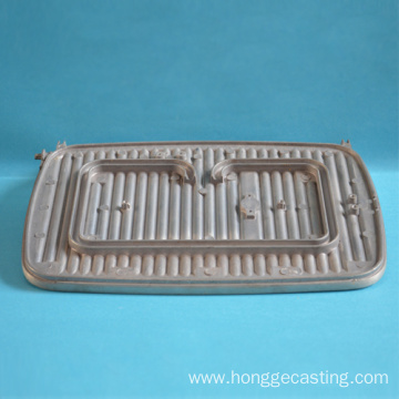 Aluminum casting die Square Waffle Maker cookware
