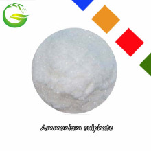 Fertilizante químico Sulfato de amonio cristal