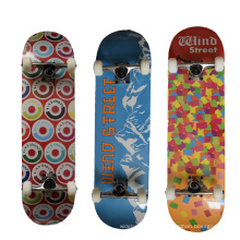 Cheap complete skatesboards wind street maple for price