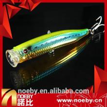 NOEBY estilo novo difícil pesca lure bubble fishing popper