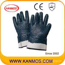 Nitrile Jersey Coated Industrial Safety Work Glove with Rough Finish (53005)