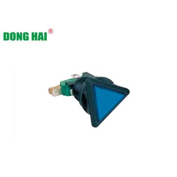 Лампа с синим треугольным переключателем