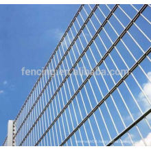 anping facory export PVC coated twins wire fence