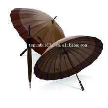 Guarda-chuva reto da tela de 24 painéis pg