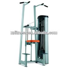 2016 Nueva llegada gimnasio equipo de gimnasia Chin & Dip Assist machine