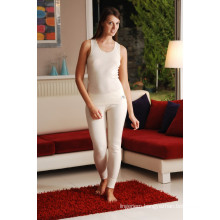 THERMAL ALL WOOL LARGE SUSPENDED VEST, UNDERWEAR