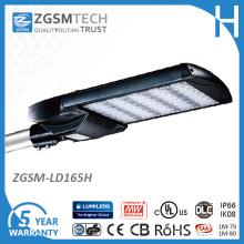 Luz do parque de estacionamento do diodo emissor de luz de IP66 165W com o UL do CE aprovado