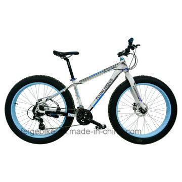 Hochwertiger Aluminiumlegierungsrahmen Mountainbike Fat Reifen (FP-MTB-FAT02)