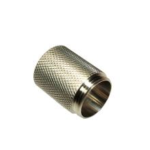 OEM custom precision cnc lathe knurled hardware cnc turning products