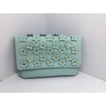 Fabrik-Entwerfer-Art- und Weiseprägung Blume PU Crossbody Handtasche (D-F542 #)