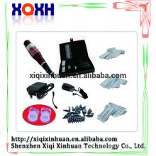 De alta calidad permanente componen conjunto de la pluma del dispositivo con agujas footpade