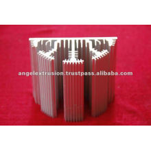 Алюминиевый профиль для радиатора светодиодной лампы