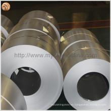 Persianas aplicadas DX51D Z100 Bobina de acero galvanizado con buen rendimiento de soldadura