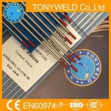 сварочный электрод вольфрамовый wt20 красный присадочные прутки