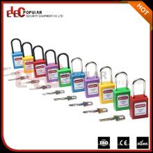 Cerraduras de bloqueo de cerradura de seguridad delgado de color con el grillete de acero