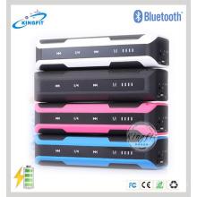 Orador de Bluetooth do sensor do toque do banco da potência da qualidade superior 4000mAh