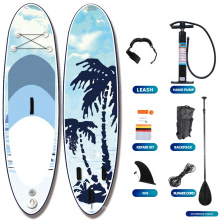 2021popularl Water Sport Board Surfboard Paddle Board FoamTransparent Stand Up Paddle Board Inflatable