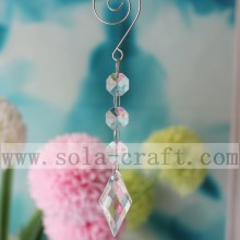 Manufacturer of for Glass Bead Trim New Design 15CM Rhombus Crystal Prisms for Chandelier export to San Marino Wholesale