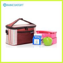 Folding 600d Poliéster família ao ar livre Pinic Lunch Cooler Bag RGB-010