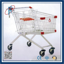 Galvanized Shopping Fold Cart