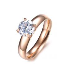 Anel de mudança de cor mais vendido, anel de círculo, anel de alto polimento na moda