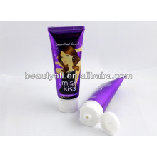 200ml pe soft cosmetic plastic packing tube for body lotion with flip-top cap