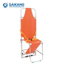 SKB1C08 Aluminum Alloy Chair Folding Stretcher With PVC Surface