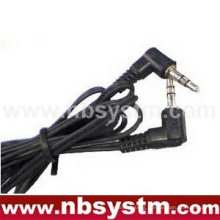 3.5mm stereo male to 3.5mm stereo male cable right angle