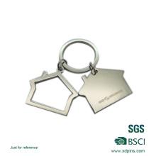 Fsahion House Logo Metal Car Keychain on Hot Selling