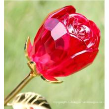 Хрустальное стекло Роза (JDH-041)