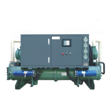 Water cooled 20 30 50 100 200 500 ton chiller price recirculating water industrial screw chiller