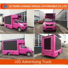 Foton Mini LED Caminhão Publicidade Truck LED tela para venda
