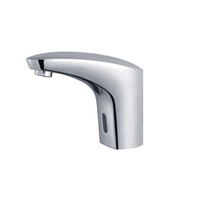 Solid Brass Cold Only Sensor Bathroom Mixer