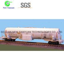 Tanque Criogénico LNG con Capacidad de 60m3 para Almacenamiento de Líquidos