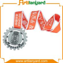 ECO Friendly Screen Printed Medal Lanyards