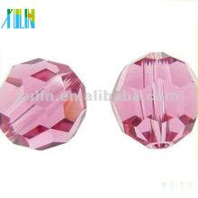 Perles de boule de disco de cristal de mode 5000 #