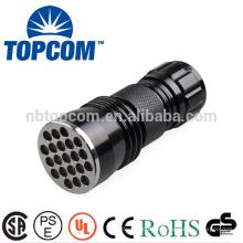 Aluminium 21 LED-Taschenlampe